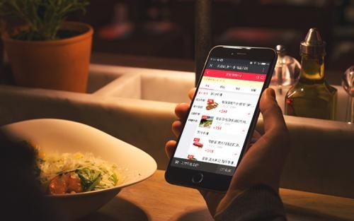现在很多商家开始使用二维码点餐软件了